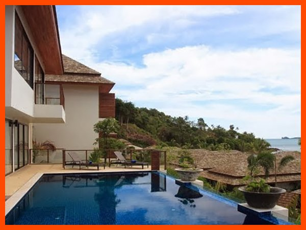 Villa 137 - Fantastic sea views with continental breakfast included - Image 1 - Bophut - rentals