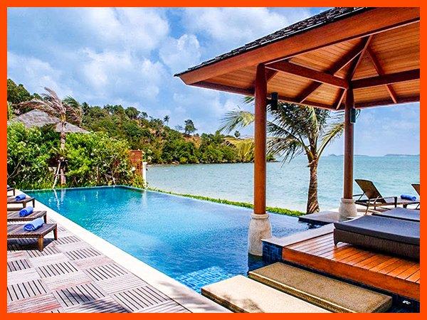 Villa 54 - Bophut beach front with Thai chef service - Image 1 - Bophut - rentals
