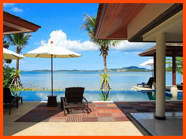 Villa 120 - Bophut Beach Front with Thai Chef Service - Image 1 - Bophut - rentals