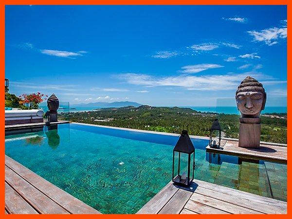 Villa 115 - Fantastic views with Thai chef service - Image 1 - Choeng Mon - rentals
