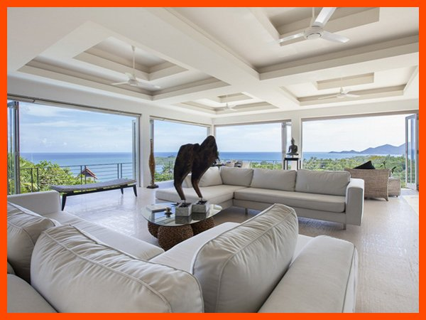 Villa 121 - Fantastic sea views with continental breakfast included - Image 1 - Chaweng - rentals
