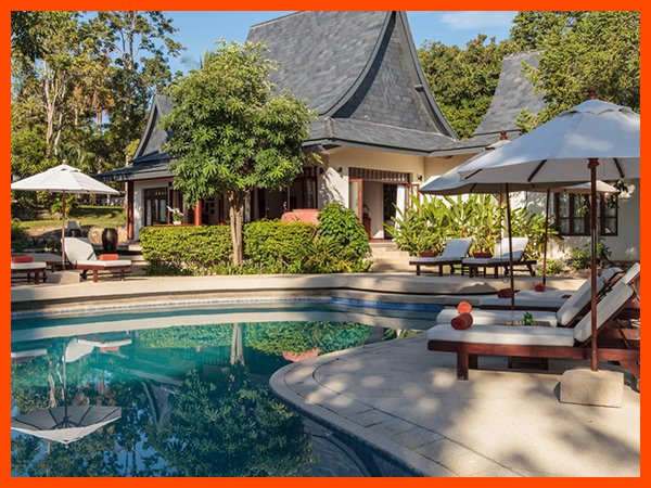 Villa 123 - Close to Chaweng continental breakfast included - Image 1 - Choeng Mon - rentals
