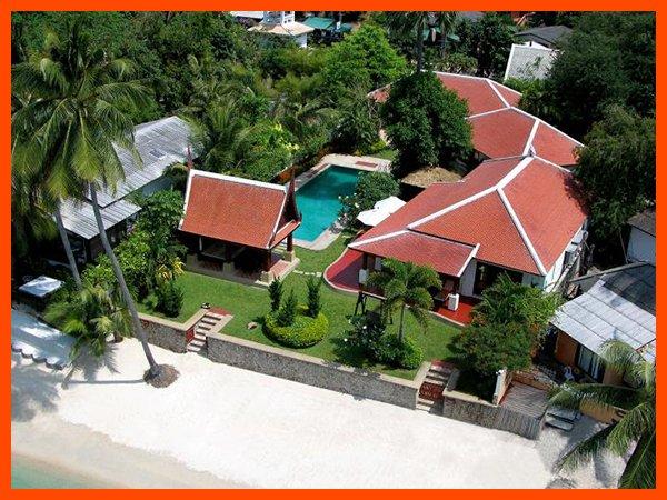 Villa 04 - Beach front luxury with Thai chef service - Image 1 - Mae Nam - rentals