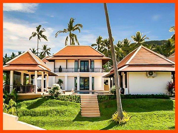 Villa 24 - Walk to beach splash drink eat sleep walk to villa jump in pool - Image 1 - Bophut - rentals