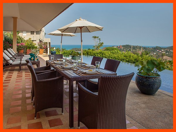 VILLA 61 - PANORAMIC SEAVIEWS CLOSE TO BEACH - Image 1 - Choeng Mon - rentals