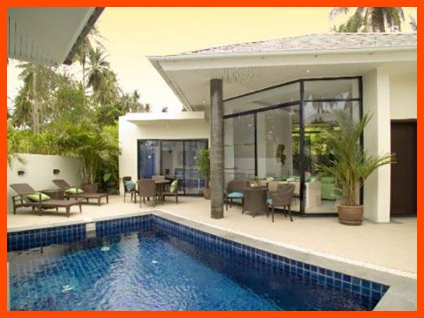Villa 109 - Walk to beach swim play drink eat sleep walk to villa jump in pool - Image 1 - Choeng Mon - rentals