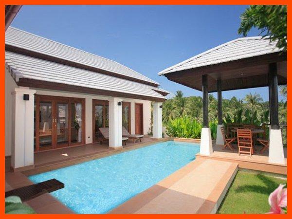 Villa 64 - Walk to beach swim play drink eat sleep walk to villa jump in pool - Image 1 - Choeng Mon - rentals