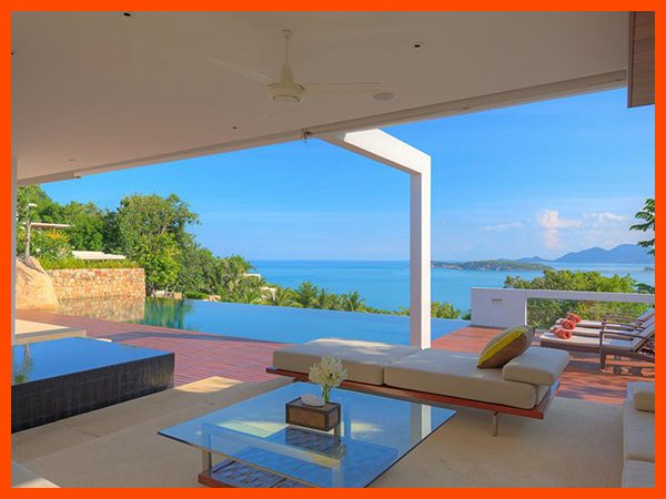 Villa 57 - Unique and stylish with infinity pool and sea views - Image 1 - Choeng Mon - rentals