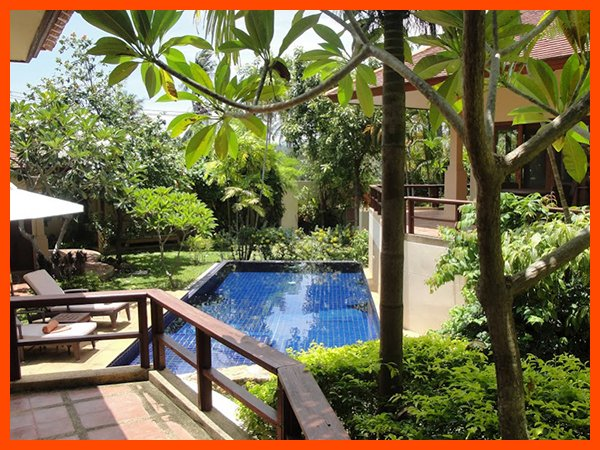 Villa 162 - Walk to beach swim play drink eat sleep walk to villa jump in pool - Image 1 - Choeng Mon - rentals
