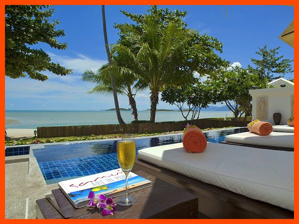 Villa 12 - Great value beach front villa with private pool - Image 1 - Plai Laem - rentals