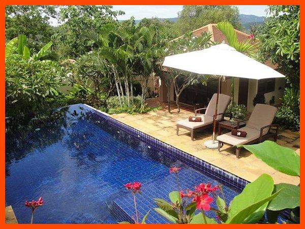 Villa 188 - Walk to beach swim play drink eat sleep walk to villa jump in pool - Image 1 - Choeng Mon - rentals