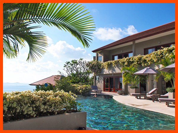 Villa 79 - Fantastic sea views (4 BR option) continental breakfast included - Image 1 - Choeng Mon - rentals