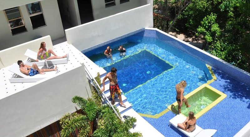 Enjoy the pool with your family and friends! - 3 bd PH for 10, private terrace, near the beach - Playa del Carmen - rentals