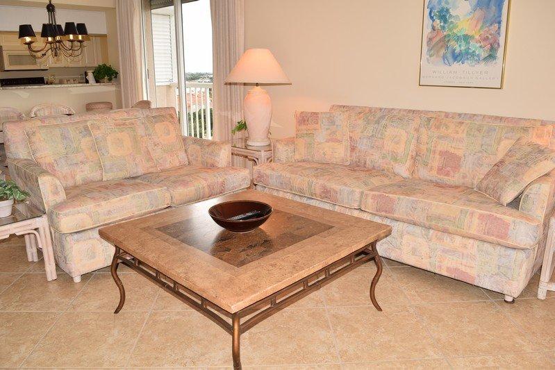 Living Room - The Club at Naples Cay 801 - Naples - rentals