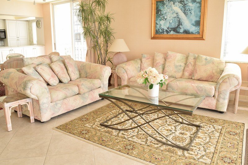 Living Room - The Club at Naples Cay 1001 - Naples - rentals