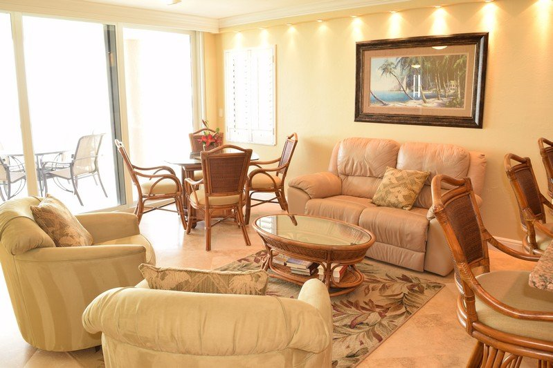 Living Room - The Club at Naples Cay 1103 - Naples - rentals