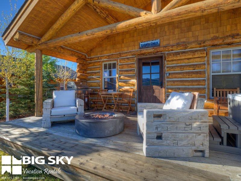 Big Sky Moonlight Basin   Cowboy Heaven Cabin 11 Derringer - Image 1 - Big Sky - rentals