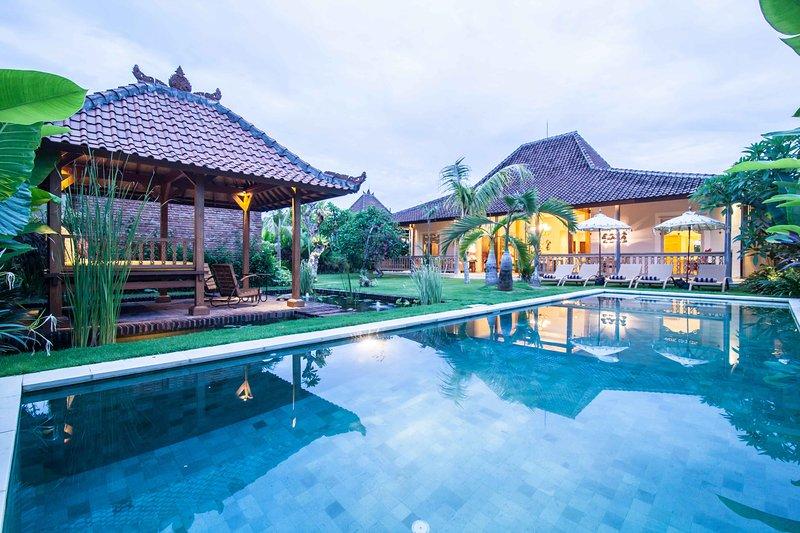 Classy Private Traditional Joglo Kuwum Villa - Image 1 - Kerobokan - rentals