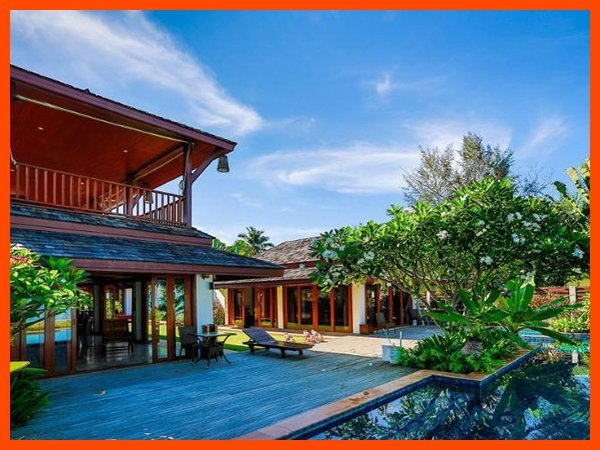 Villa 100 - Beach front luxury continental breakfast included - Image 1 - Lipa Noi - rentals