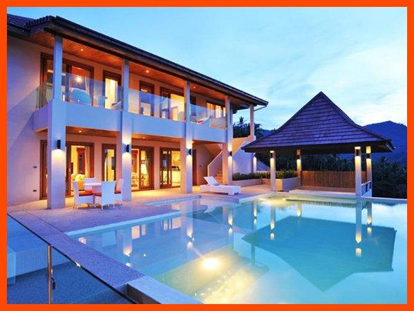 Villa 199 - Infinity edge pool and fantastic sea views - Image 1 - Mae Nam - rentals