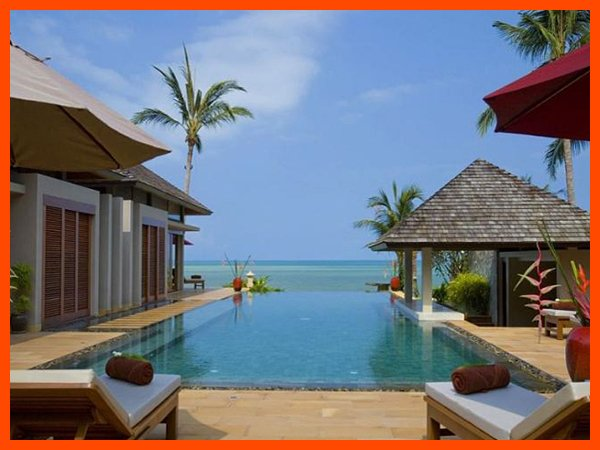 Villa 184 - Beach front luxury continental breakfast included - Image 1 - Lipa Noi - rentals