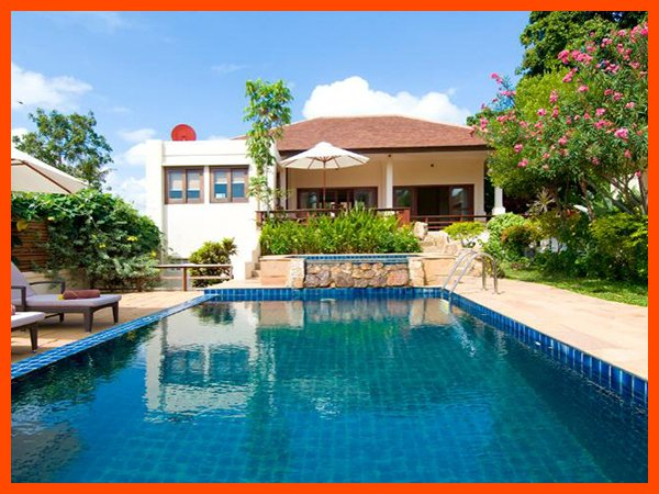 Villa 161 - Walk to beach (2 BR option) continental breakfast included - Image 1 - Choeng Mon - rentals