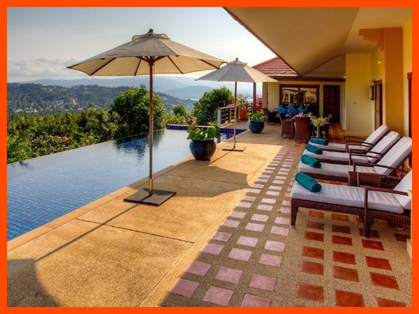 Villa 61 - Panoramic views (3 BR option) continental breakfast included - Image 1 - Choeng Mon - rentals