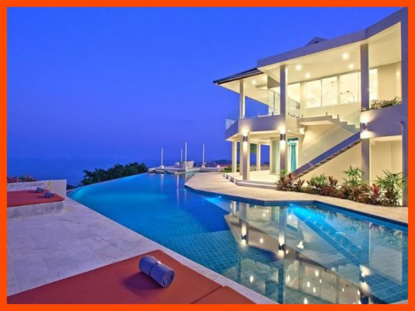 Villa 47 - Fantastic sea views (3 BR option) continental breakfast included - Image 1 - Choeng Mon - rentals