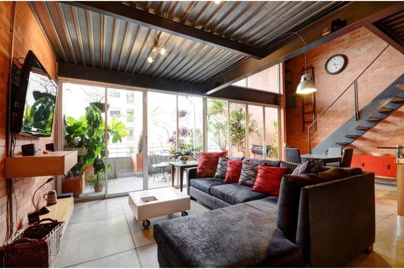 Hard to Find, Loft Style Living - Image 1 - Medellin - rentals