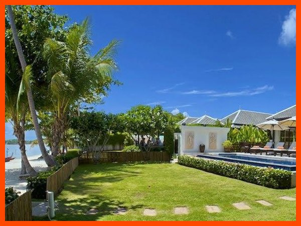 Villa 12  - Beach front (1 BR option) private pool and sunset views - Image 1 - Plai Laem - rentals