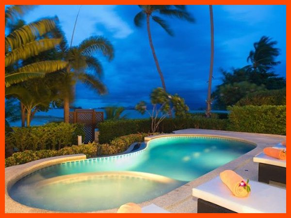 Villa 05  - Beach front (2 BR option) private pool and sunset views - Image 1 - Plai Laem - rentals