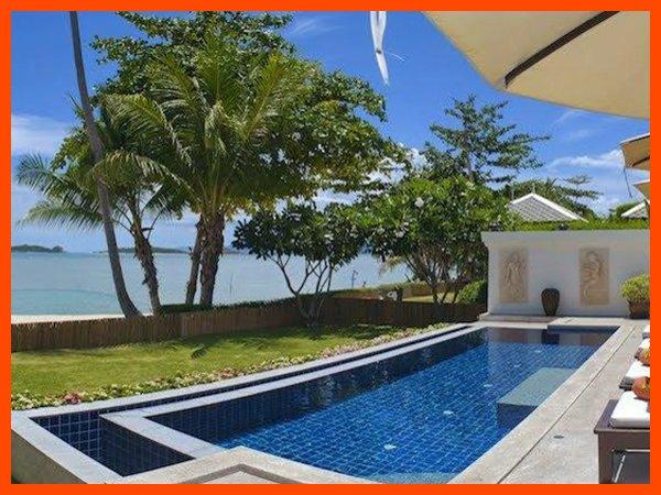 Villa 12 - Beach front private pool and sunset views - Image 1 - Plai Laem - rentals