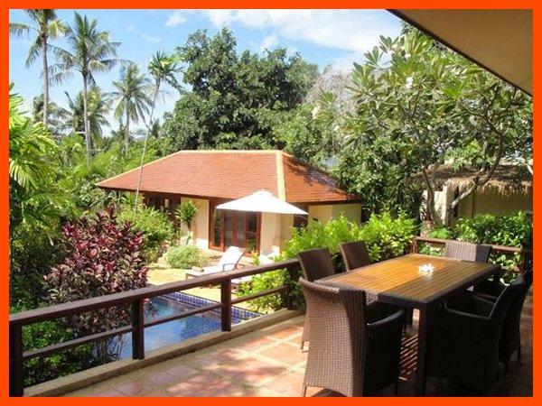 Villa 63 - Walk to beach swim play drink eat sleep walk to villa jump in pool - Image 1 - Choeng Mon - rentals