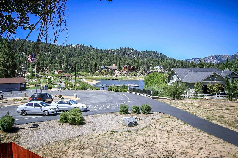 Private Balcony View - Boulder Creek~Upper Level Lake-View Condo~Walk To Lake~Community Pool & Spa~ - Big Bear Lake - rentals