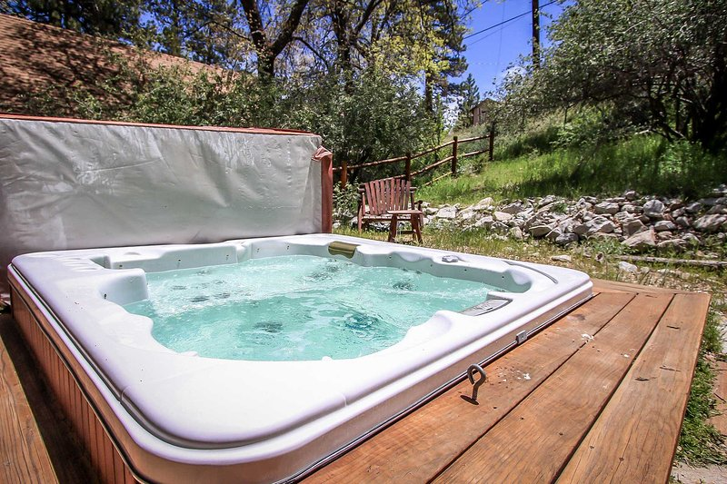 Easy Times~Secluded & Clean Retreat~Outdoor Spa~Great Yard/Deck~Washer/Dryer~ - Image 1 - Big Bear City - rentals
