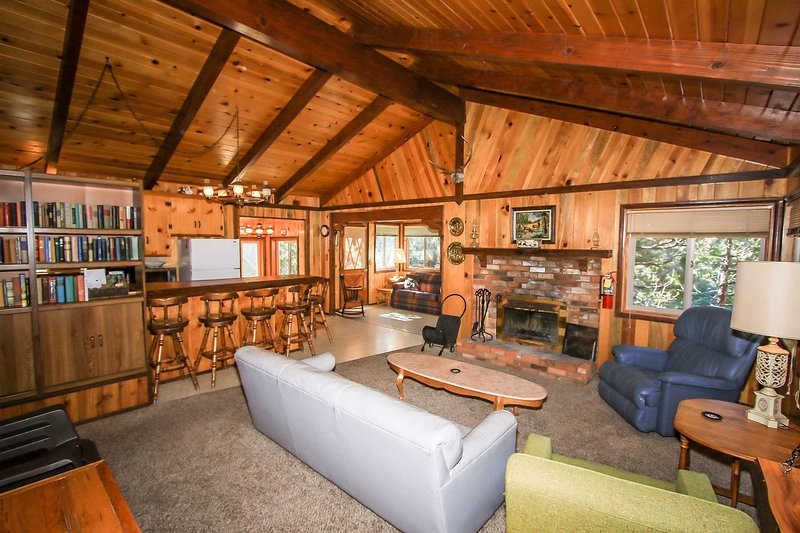 Cabin Idle Ours~Secluded Fawnskin Home~Basic Essentials~Walk To Hiking Trails~ - Image 1 - Fawnskin - rentals