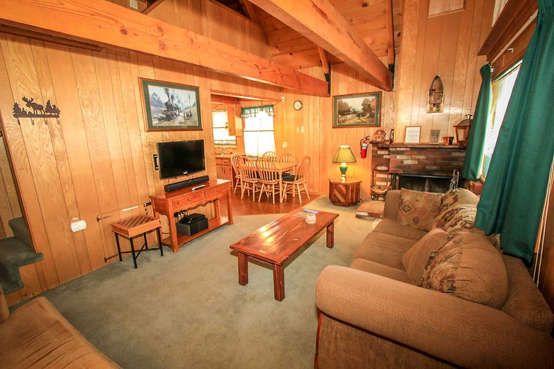 A Main Escape Cabin~Walk To Town/Lake~Loft~Cable/HBO~Kitchen~Fireplace~W/D~ - Image 1 - Big Bear Lake - rentals