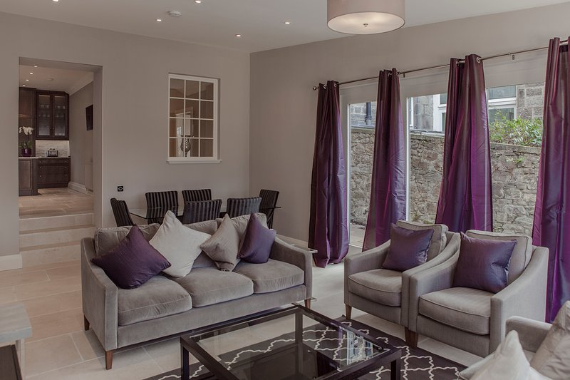 Gorgeous living room/conservatory  - The West End Residence at Great Stuart Street - The Edinburgh Address - Edinburgh - rentals