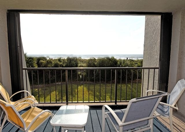 Station One - 1B Lee - Station One - 1B Lee -  Oceanfront condo with community pool, tennis, beach - Wrightsville Beach - rentals