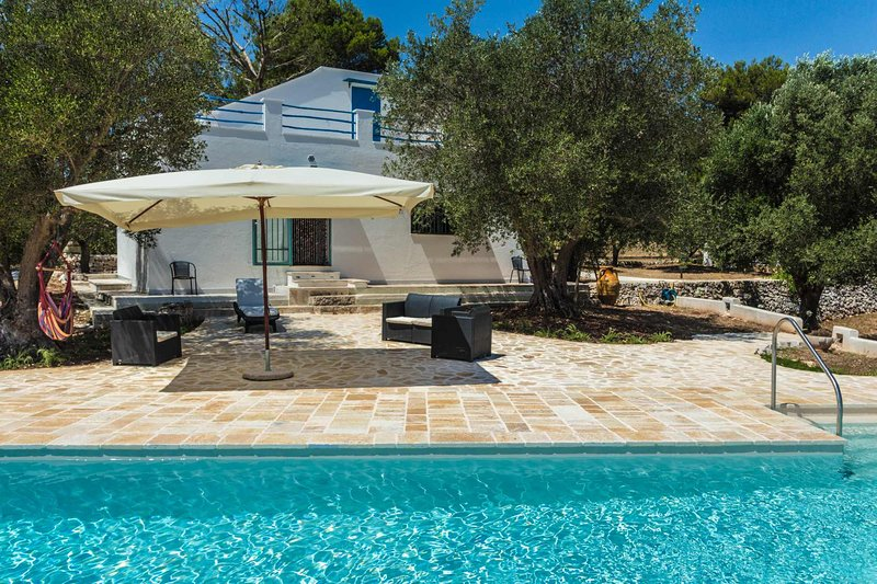 Puglia holiday house with pool near by Ostuni - Villa Azzurra - Cisternino - rentals