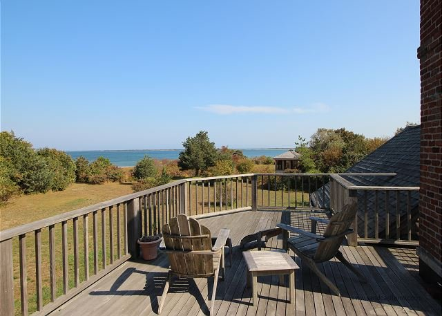 View from Master Bedroom - In a lovely, rural setting on the island of Chappaquiddick. - Chappaquiddick - rentals