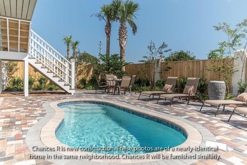CHANCES R: New 6BR-4 Kings-Bikes-Pool-Golf Cart - Image 1 - Miramar Beach - rentals