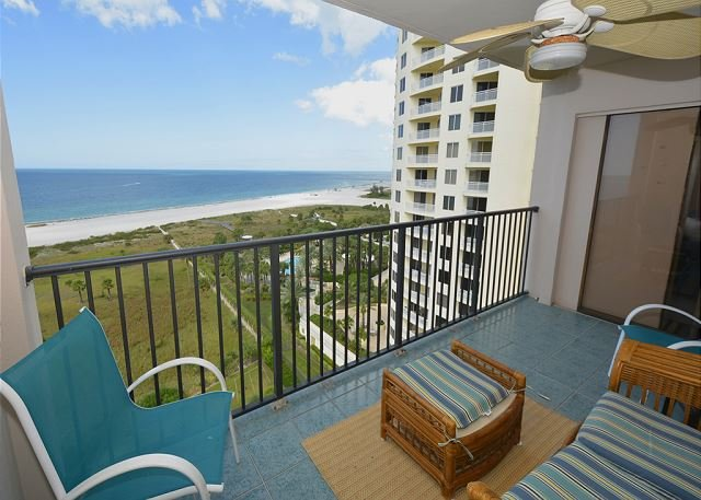 Direct Gulf View - 15th Floor Beauty in Sand Key! 2 Bedroom, 2 Bath-Sleeps 4. 30 day minimum. - Clearwater - rentals