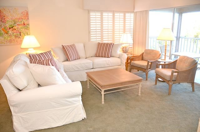 Living Room - St. Thomas in Pelican Bay - Naples - rentals