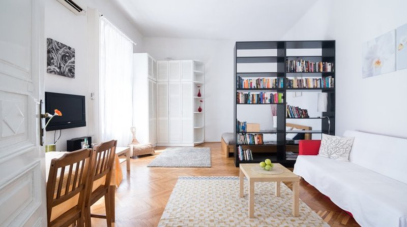Large Main Room with A/C - Apartment beside the Danube - Beside The Danube - Holiday In Budapest Apartment - Budapest - rentals