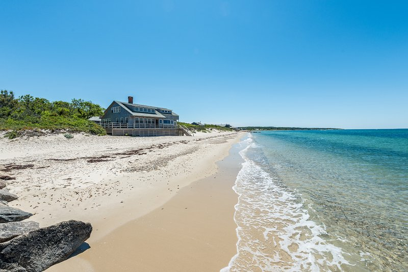 View of House from Beach - GRUNM - Waterfront and Beachfront - Vineyard Haven - rentals