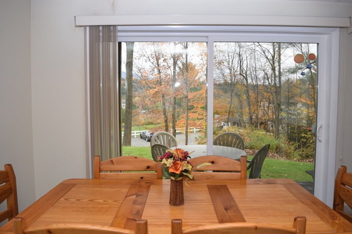 View From Dining Room - Mountainside Resort H-103 - Stowe - rentals