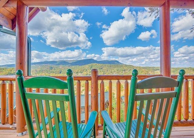 Serenity Peak: 3BR Cabin w/ Views, Hot Tub & Gazebo (Sleeps 10) - Image 1 - Sevierville - rentals