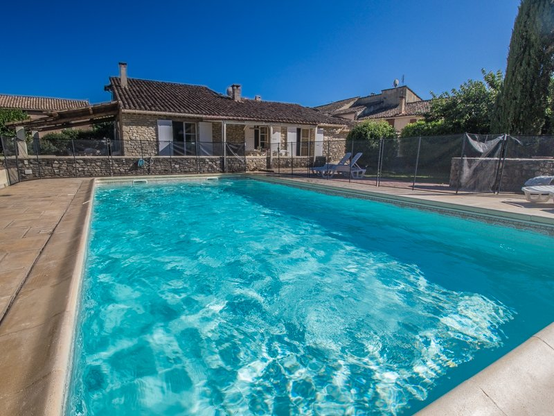 Entrechaux Vaucluse, Stone house 9p. private pool, at the foot of the Mont Ventoux - Image 1 - Entrechaux - rentals