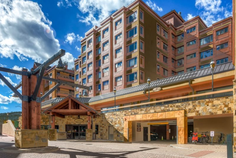 Uniquely located at the base of Peak 9 with ski school and Quicksilver lift just steps away. - Village at Breckenridge 4313 - Breckenridge - rentals